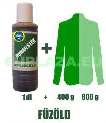 Ruhafesték, fűzöld, 1 dl, kifutó termék, készleten 2db