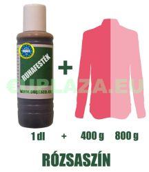 Ruhafesték, rózsaszín, 1 dl, kifutó termék, készleten 2db