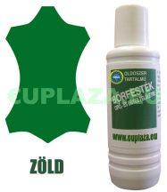 Bőrfesték, zöld, 1 dl, kifutó termék, készlet erejéig.