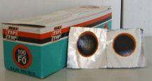 Tömlőfolt, F0-ás, Tip-Top, 16 mm, 100 db/cs