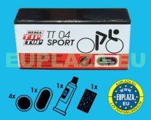 Gumijavító készlet, TT-04, sportkerékpárhoz, Tip-top