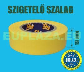 Szigetelőszalag, sárga, 10 m,  5db/csomag