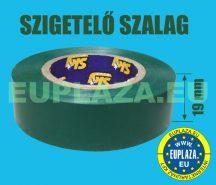 Szigetelőszalag, zöld, 10 m, 5db/csomag