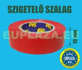 Szigetelőszalag, piros, 20 m, 5db/csomag