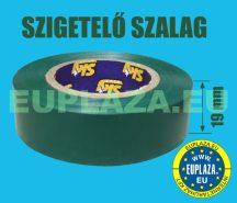 Szigetelőszalag, zöld, 20 m, 5db/csomag