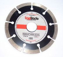Gyémánt vágótárcsa, szegmenses, standard, 115 x 22,2 x 7 mm