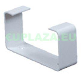 Felfogató elem, KP55-28, négyszög keresztmetszetű légcsatornához, műanyag, 55 x 110 mm