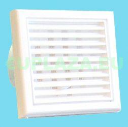 Ventilátor, Awenta WA120WP(WA19), fali, zsinórkapcsolóval, 1,4 m vezetékkel + villásdugóval, formatervezett, csőcsatlakozó 120 mm