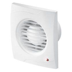 Ventilátor,Vecco WV100T, időkapcsolós,fali, 100-as csonkkal, fehér.