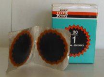Tömlőfolt, 1-es, Tip-Top, 35 mm, 30 db/cs