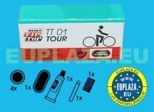 Gumijavító készlet, TT-01, kerékpárhoz, Tip-top