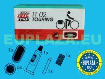 Gumijavító készlet, TT-02, túrakerékpárhoz, Tip-top