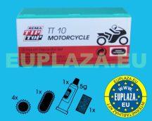 Gumijavító készlet, TT-10, motorkerékpárhoz, Tip-top
