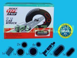 Gumijavító készlet, TT-12, teherautóhoz, Tip-top